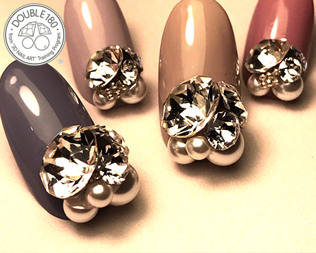 SWAROVSKI 3D NAIL ART(DOUBLE180)