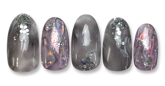 twinkle clear marble